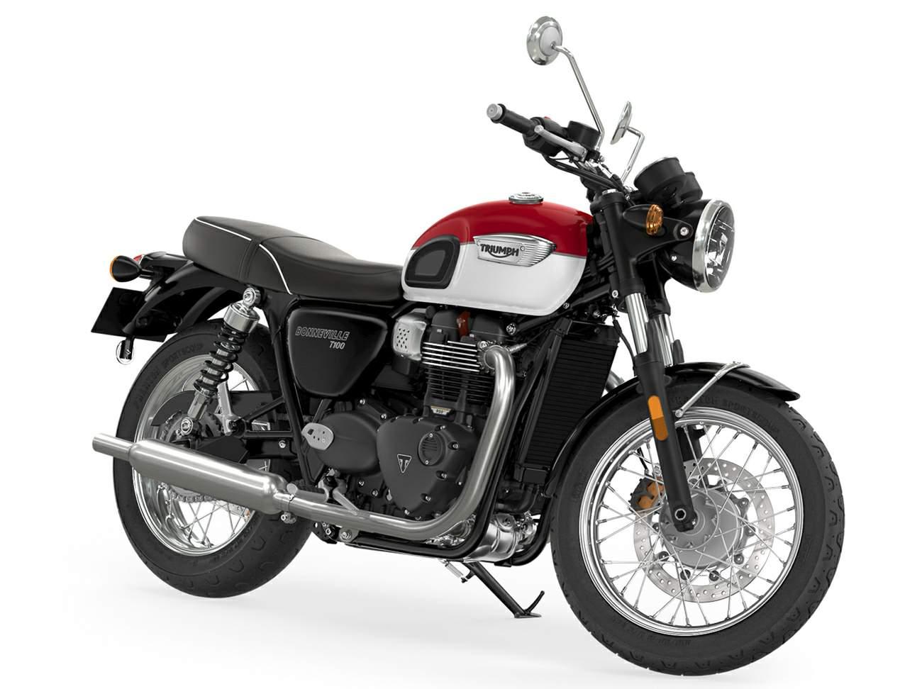 Triumph Bonneville T100 technical specifications